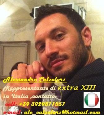 Alessandro Calzolari – Rappresentante inItalia