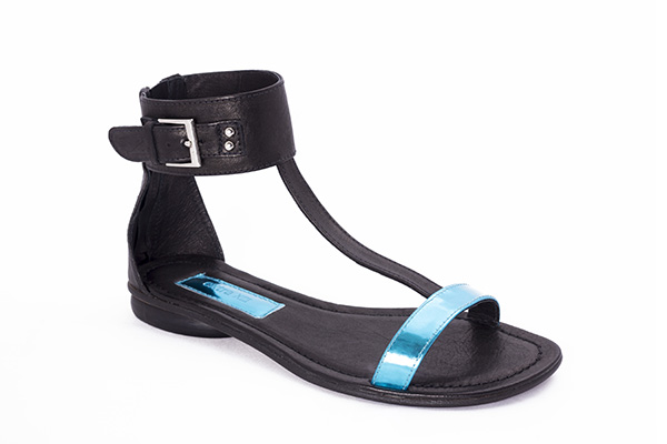 Sandalia tira azul