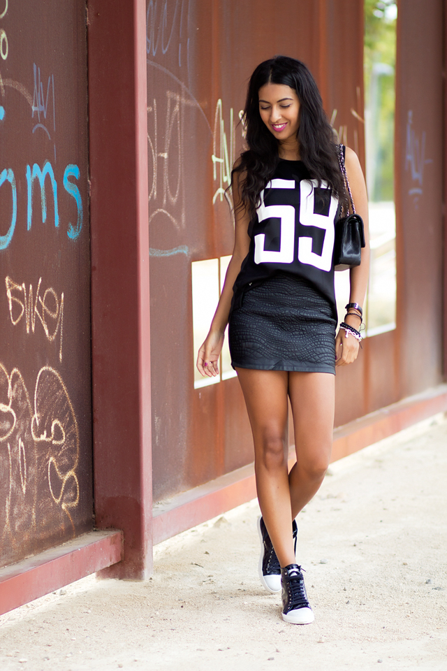 Number tee- Camiseta con número- Sporty_Chic look 2